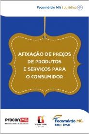 Cartilha com orientações sobre afixação de preços de produtos e serviços para o consumidor